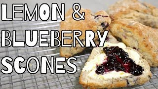 Lemon Blueberry Scones Recipe | My Virgin Kitchen