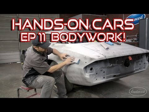 How To Bodywork A Car & Spray Primer-Surfacer on Hands-On Cars 11 - Get It Straight - from Eastwood