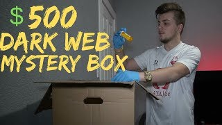 SCARIEST DARK-WEB UNBOXING I'VE DONE