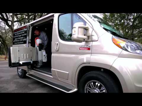 Care Giver Vehicle Tempest at R & R Mobility Van & Lifts