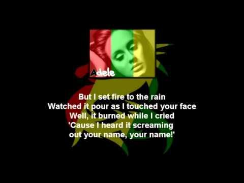 Baixar Adele   I Set Fire To The Rain Reggae Version   Com Letra em HD