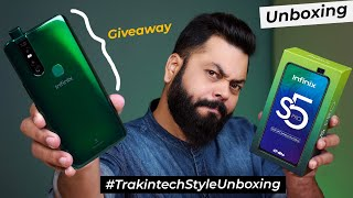 Infinix S5 Pro Unboxing And First Impressions⚡⚡⚡Pop-up Selfie, 48MP Camera,  Under 10,000 (GIVEAWAY)