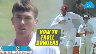 Funniest Bravest Batting Ever | Courtney Walsh Trolling Aussies with Funny Gestures !!
