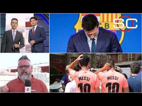 LO QUE NO VISTE de la despedida de Lionel Messi del FC Barcelona en el Camp Nou | SportsCenter