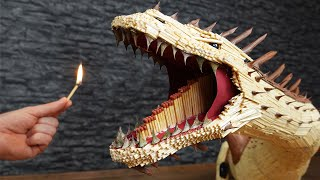 EPIC Fire Breathing Dragon with Matches Chain Reaction