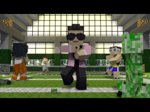 Baixar Oppa Gangnam Style Minecraft