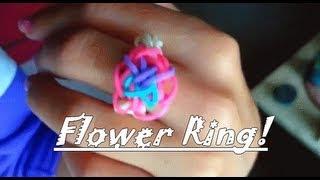 טבעת פרח מגומיות