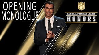 Rob Riggle Roasts the NFL's Elite in Opening Monologue | 2018 NFL Honors