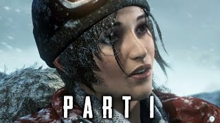 Rise of the Tomb Raider Walkthrough Gameplay Part 1 - Intro (2015)