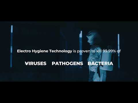 Disinfecting your work place is a critical step in safely reopening your business. Electro Hygiene Technology is proven to kill 99.99% of viruses, pathogens and bacteria - Including SARS-CoV-2 (COVID-19). HYGIENICA™ disinfecting technology can help you safely reopen your facility.