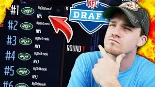 WHAT IF A TEAM HAD (ALMOST) EVERY 1ST ROUND PICK! Madden 17 Connected Franchise Experiment