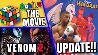 Venom 2 Spider-Man, Hercules Casting, Rubik's Cube Movie & MORE!!
