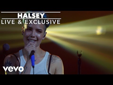 Halsey - Hold Me Down (Vevo LIFT Live)