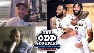 Rob Paker - Blame LeBron James For Anthony Davis' Disappointing Season