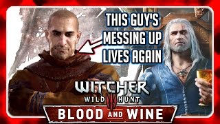 Witcher 3 🌟 BLOOD AND WINE ► Gaunter O'Dimm aka Master Mirror is behind the Cursed Spoon Collector