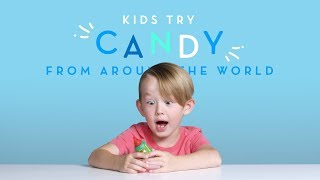 Kids Try: Candies From Around The World | Kids Try | Cut