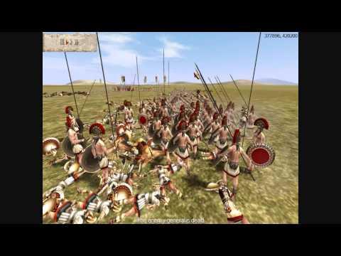 Rome Total War Online Battle #1715: Greek City-States vs Macedon