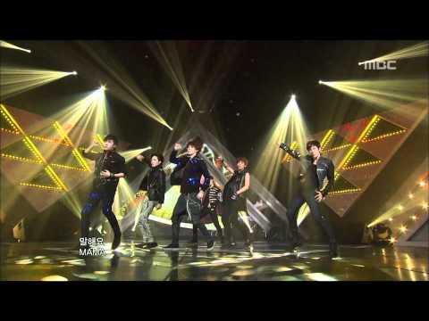 EXO-K - MAMA, 엑소케이 - 마마, Music Core 20120428