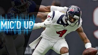 Deshaun Watson Mic'd Up vs. Giants in Home Opener | NFL Films