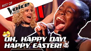 TOP 10 | EASTER SERVICE in The Voice Kids: OH, HAPPY DAY! 🐣