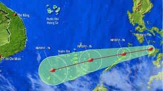 Tin Bão Mới Nhất Hôm Nay: Tin bão gần Biển Đông (cơn bão Kai-tak)