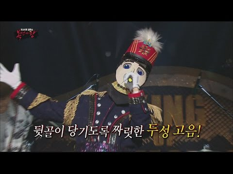 [King of masked singer] 복면가왕 - 'The captain of our local music' specially stage 20160612