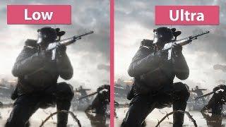 Battlefield 1 – PC Low vs. Ultra grafikai beállítás összehasonlítás és elemzés