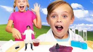 Sneaky Villain Tries to Take Secret Science Formula from Kids Fun TV!