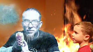 Nerf War:  New Fire and Ice Blaster