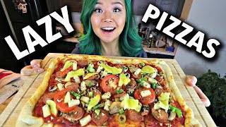 LAZY VEGAN PIZZA 2 WAYS