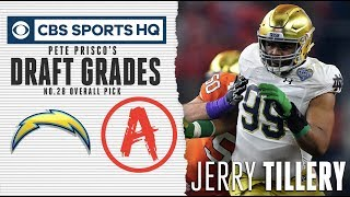Jerry Tillery will make the chargers defense tougher  | CBS Sports
