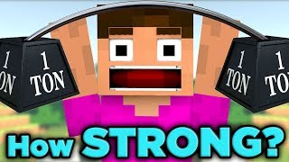 Proof Minecraft Steve Has UNLIMITED Power! | The SCIENCE... of Minecraft