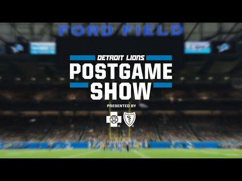 Detroit Lions Postgame Show | Week 12 vs. Houston Texans
