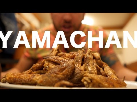 Yamachan and the Art of Eating Chicken Wings