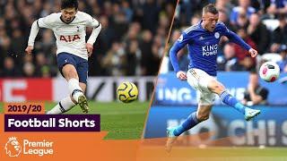 GREATEST GOALS | Premier League 2019/20 | Son, Vardy, Martial | Part 1