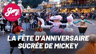 LA FÊTE D'ANNIVERSAIRE SUCRÉE DE MICKEY / MICKEY'S ANNIVERSARY CUPCAKE CELEBRATION