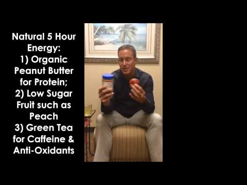 InstaHealthTip Natural 5 Hour Energy by Avecinia Wellness Center and Dr. William Lane