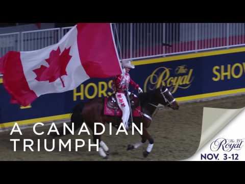 VIDEO: Join us for the 95th Royal Agricultural Winter Fair for a world-class evening or a matinee at the #1 Indoor Horse Show.