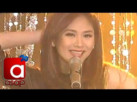 Sarah Geronimo sings 'Kasayaw' on ASAP