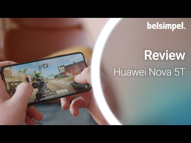 Belsimpel-productvideo voor de Huawei Nova 5T
