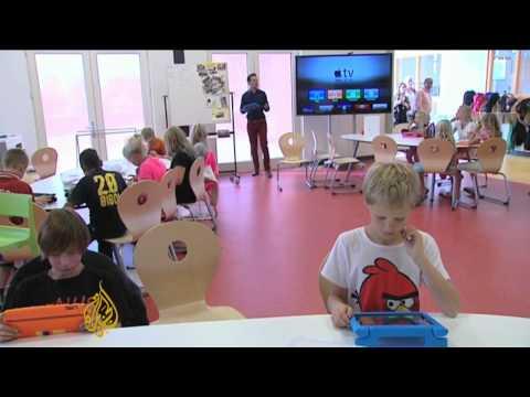 iPads take over Dutch classrooms