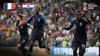 France Goal v Croatia - 2018 FIFA World Cup™ FINAL