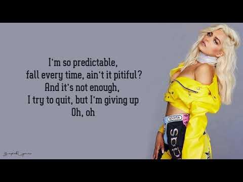 Bebe Rexha - 'Self Control' (Lyrics)