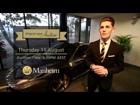 Manheim Prestige Car Auction - 11 AUG