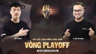 Trực tiếp Hải Phòng vs Tp.Hồ Chí Minh - Playoff 2 - Tứ Phương Đại Chiến Mùa Xuân 2021