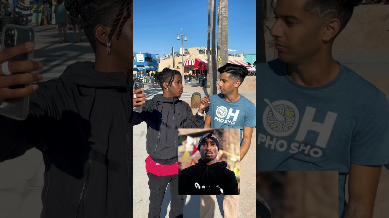 PRANK ON STRANGERS TUPAC IS ALIVE 😱 (GOES WRONG) #shorts
