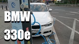 BMW 330e plug-in hybrid (ENG) - Test Drive and Review
