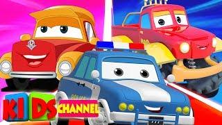 Cars Cartoon   Street Vehicle Videos for Babies   Live Stream