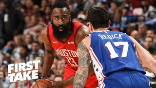 James Harden's style of basketball doesn't work in the playoffs - Will Cain | First Take