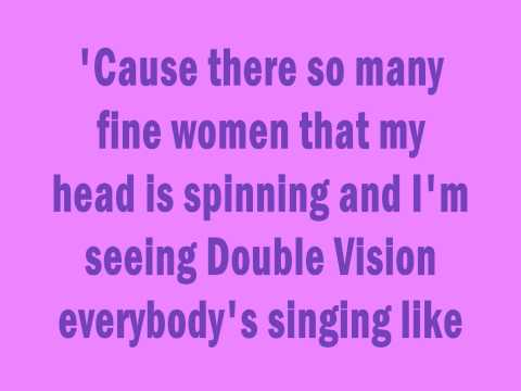 3OH!3 - Double Vision w/Lyrics